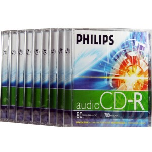 10xCD-R AUDIO PHILIPS